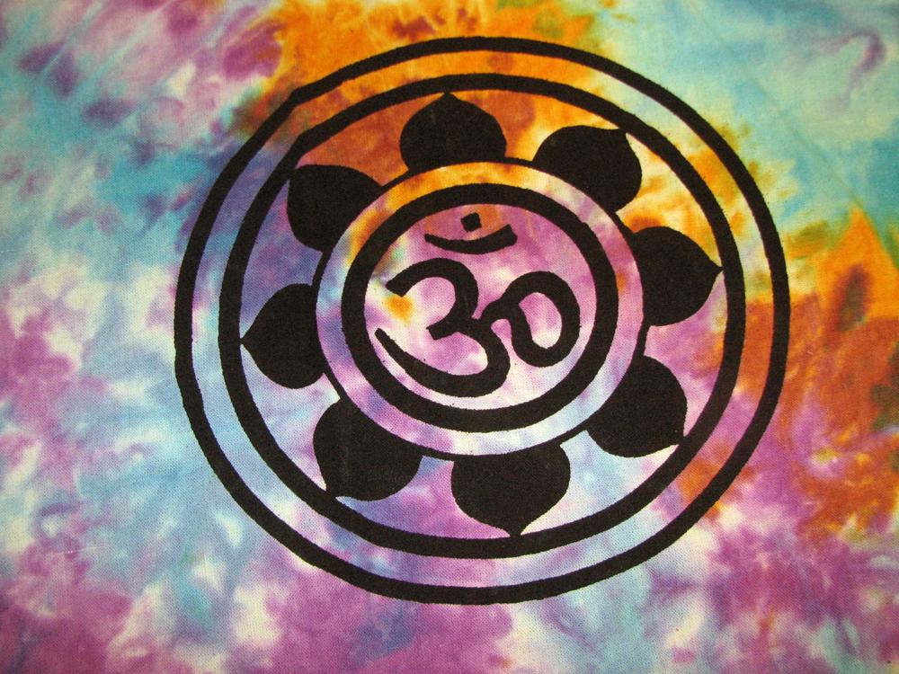 Om aum yoga indian lotus flower tie dye hippie wall tapestry door om aum yoga indian lotus flower tie dye hippie wall tapestry door window curtain thumbnail mightylinksfo