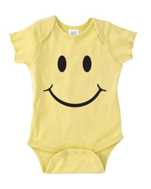 Smiley Face Onesie Funny Baby Onesie Cute Baby Stuff Baby