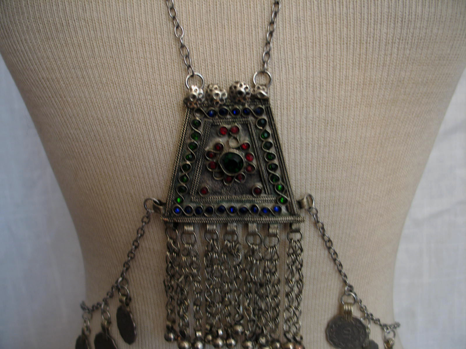 Isis body drape chain with kuchi pendants 1 on storenvy 21530 small aloadofball Gallery