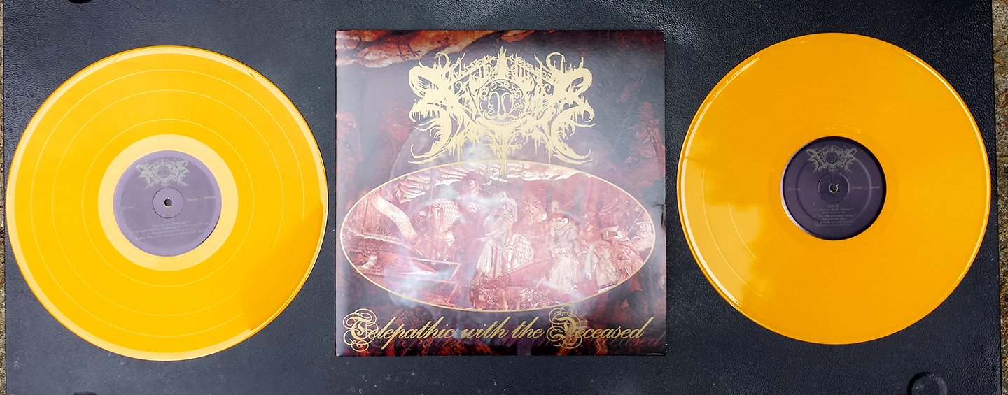 Xasthur  quot Telepathic With the Deceased quot  2XLP Gatefold - Thumbnail 3Xasthur Telepathic With The Deceased