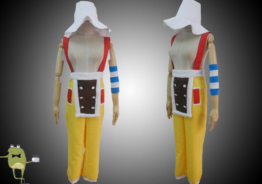 Anime Cosplay Costume One Piece 2 years later Usopp Custom Any size