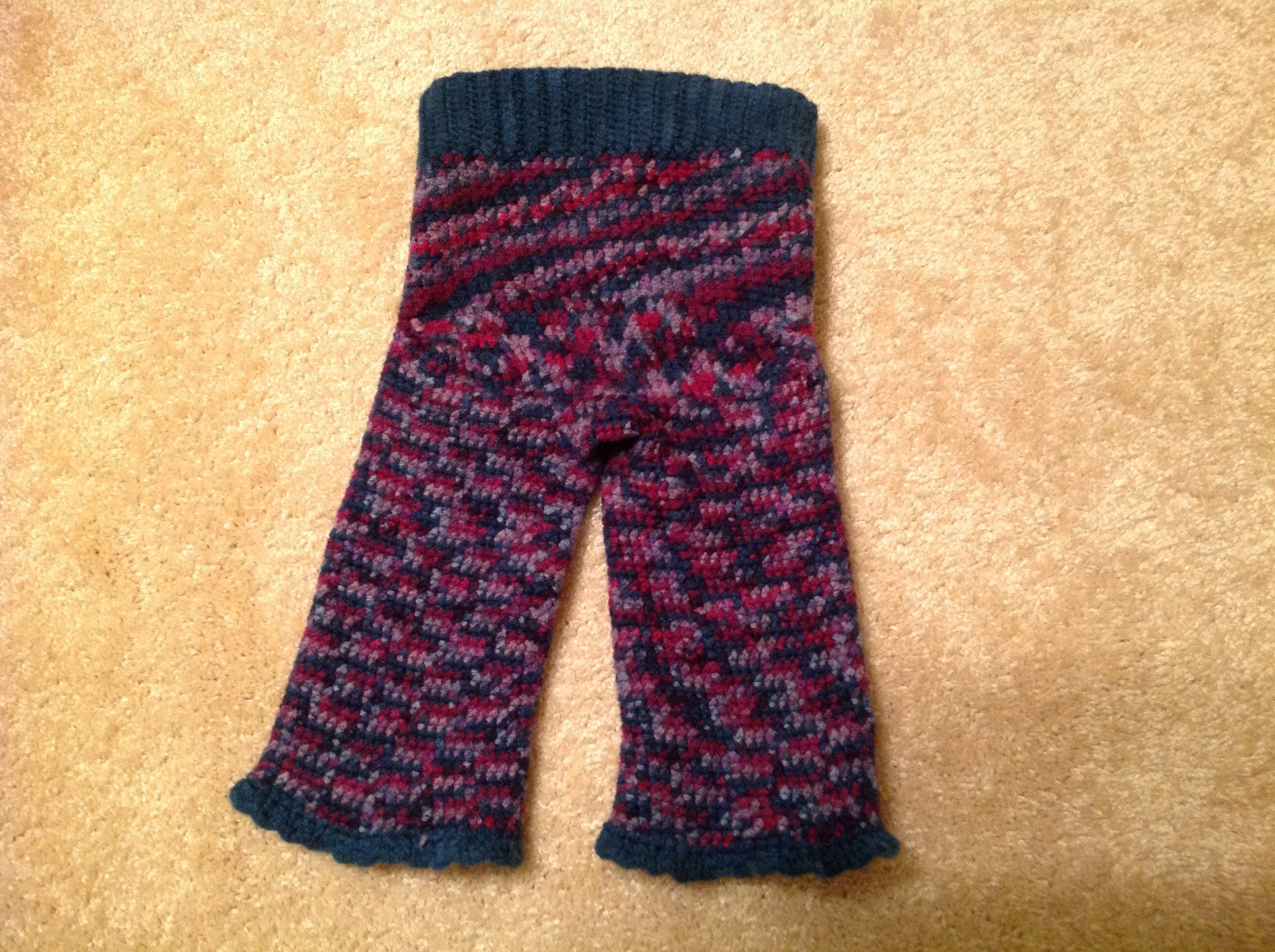 Isis Inspired Crocheted Wool Longies 9 12 Month Online Store