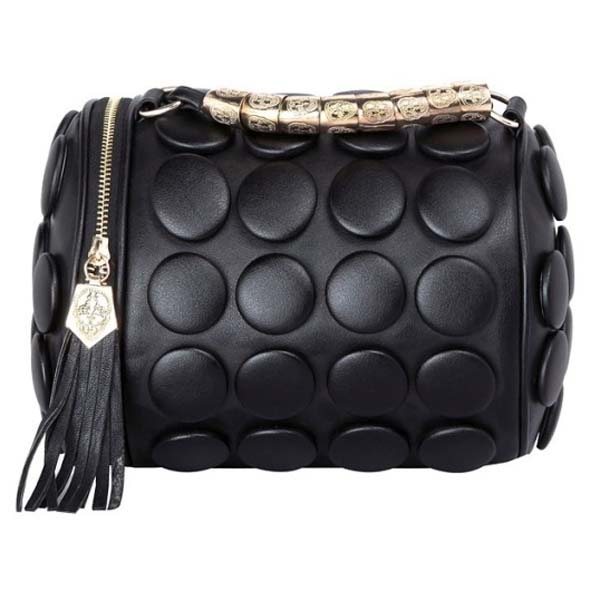 cb8b2772658a Casual Party Solid Button PU Leather Shoulder Bags Cross-body Women Handbags