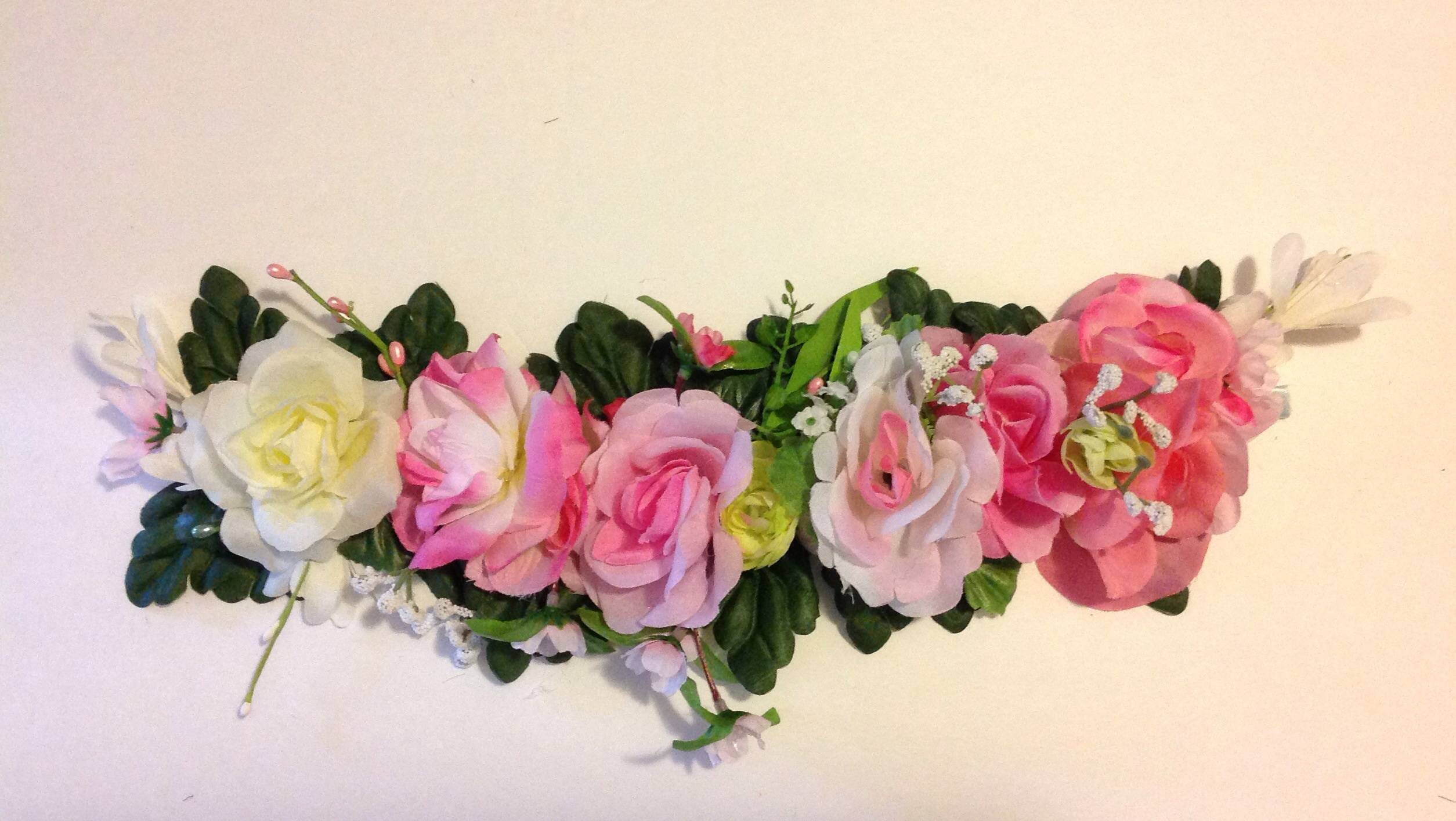 Rose flower crown rave crown festival crown bridal crown floral image small izmirmasajfo