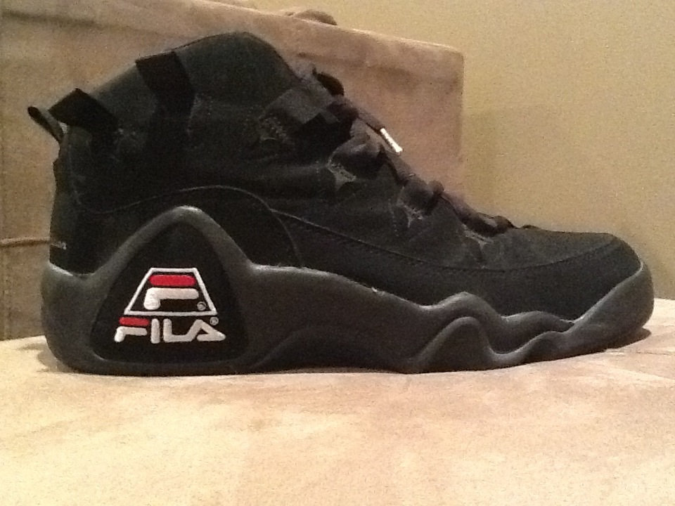 Grant Hill Shoes  Black