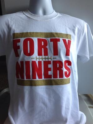 forty niners shirts