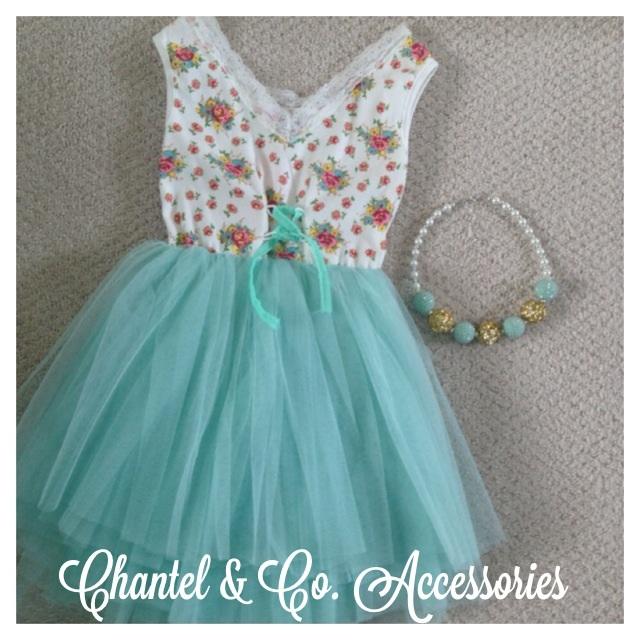 Floral Crochet Tutu Dress Chantel Co Accessories Online Store
