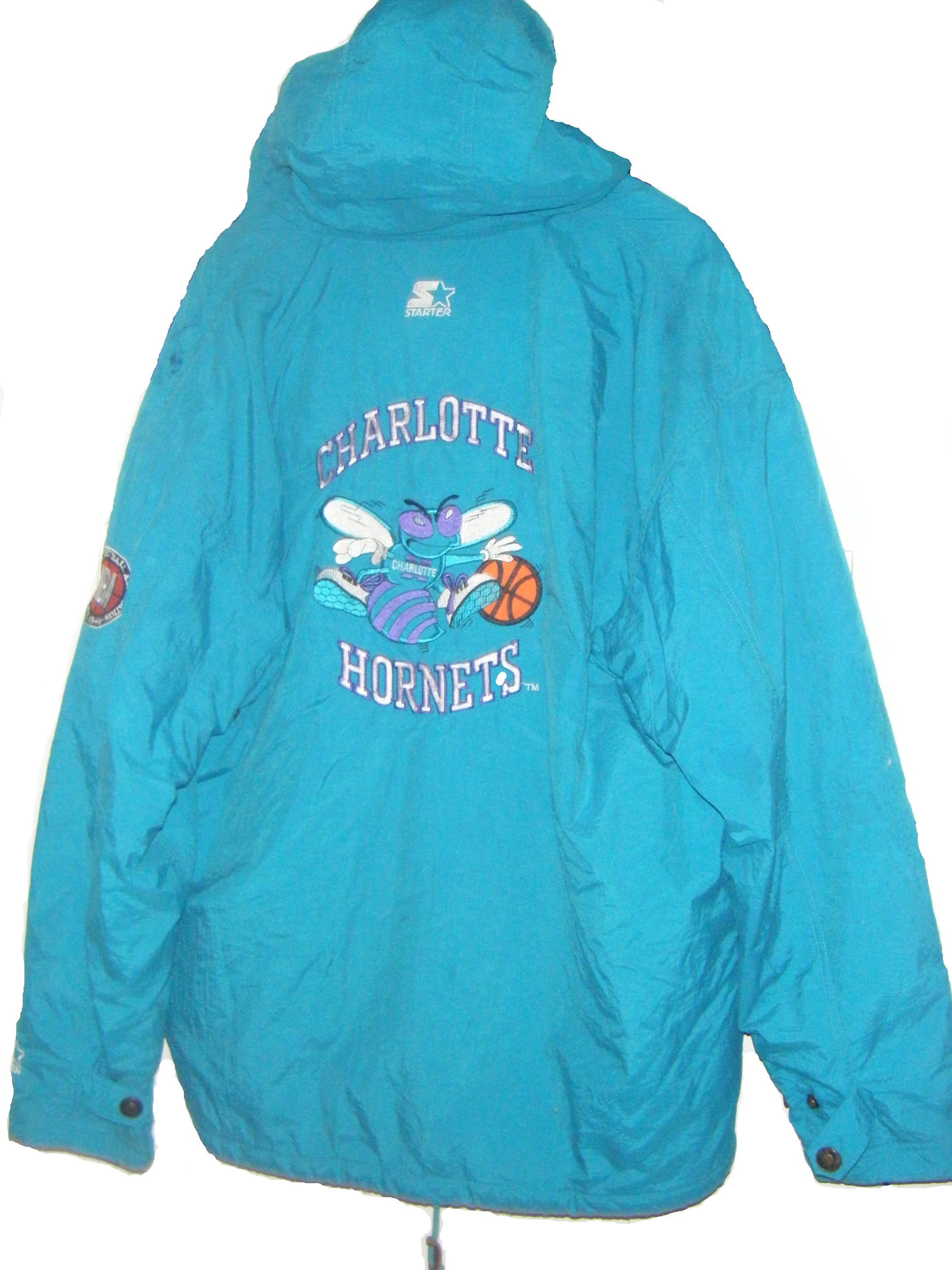 Old School Rules Charlotte Hornets Starter Jacket