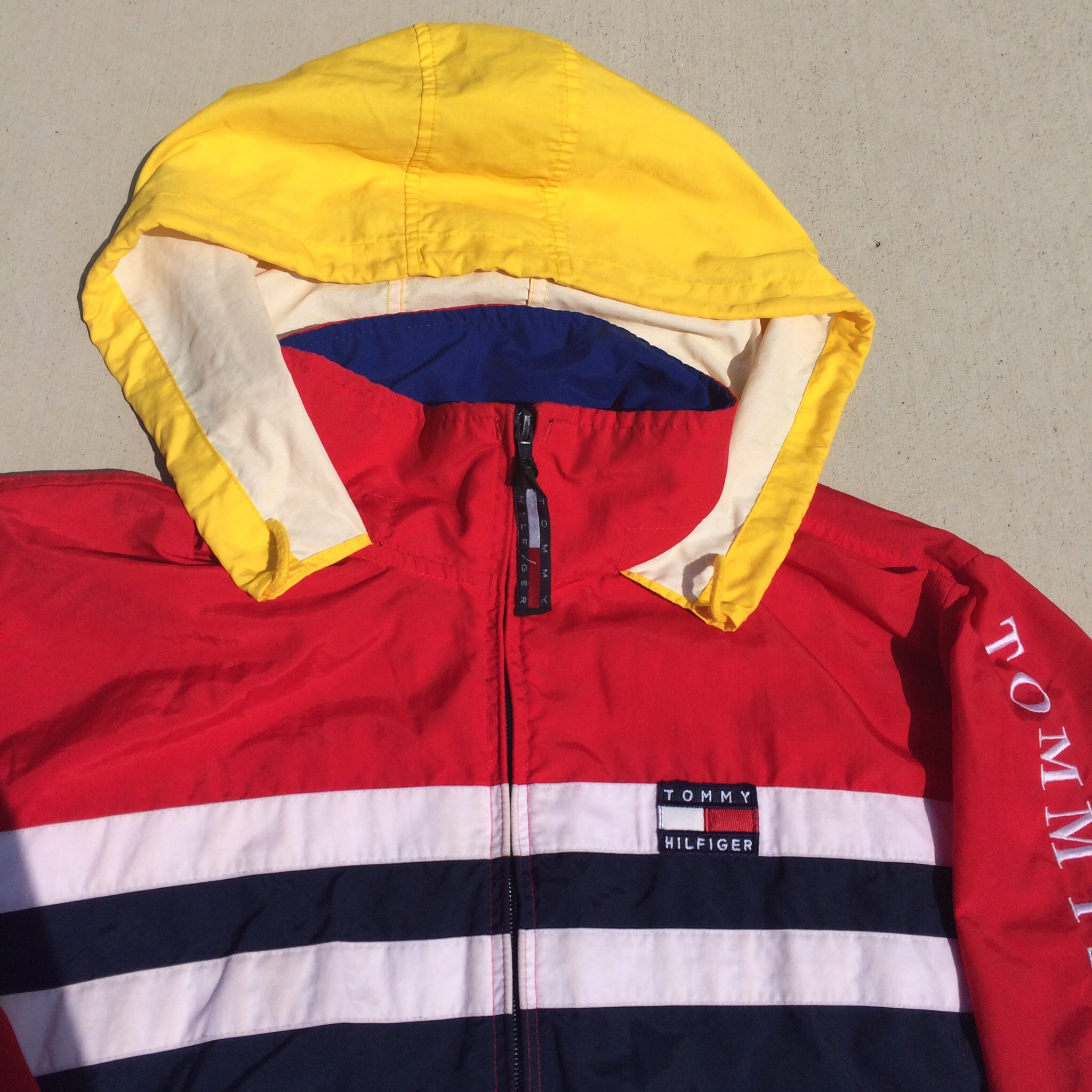 Sold Out Vintage Tommy Hilfiger Colorblock Windbreaker