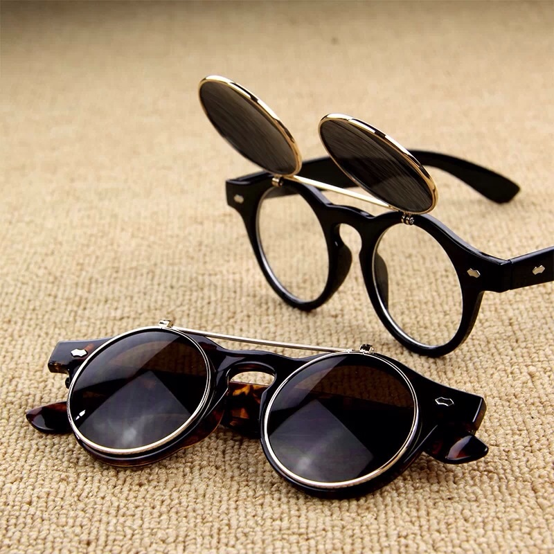 New Arrival From Free Shipping Vintage Flip Sunglasses Up QrCtsdh