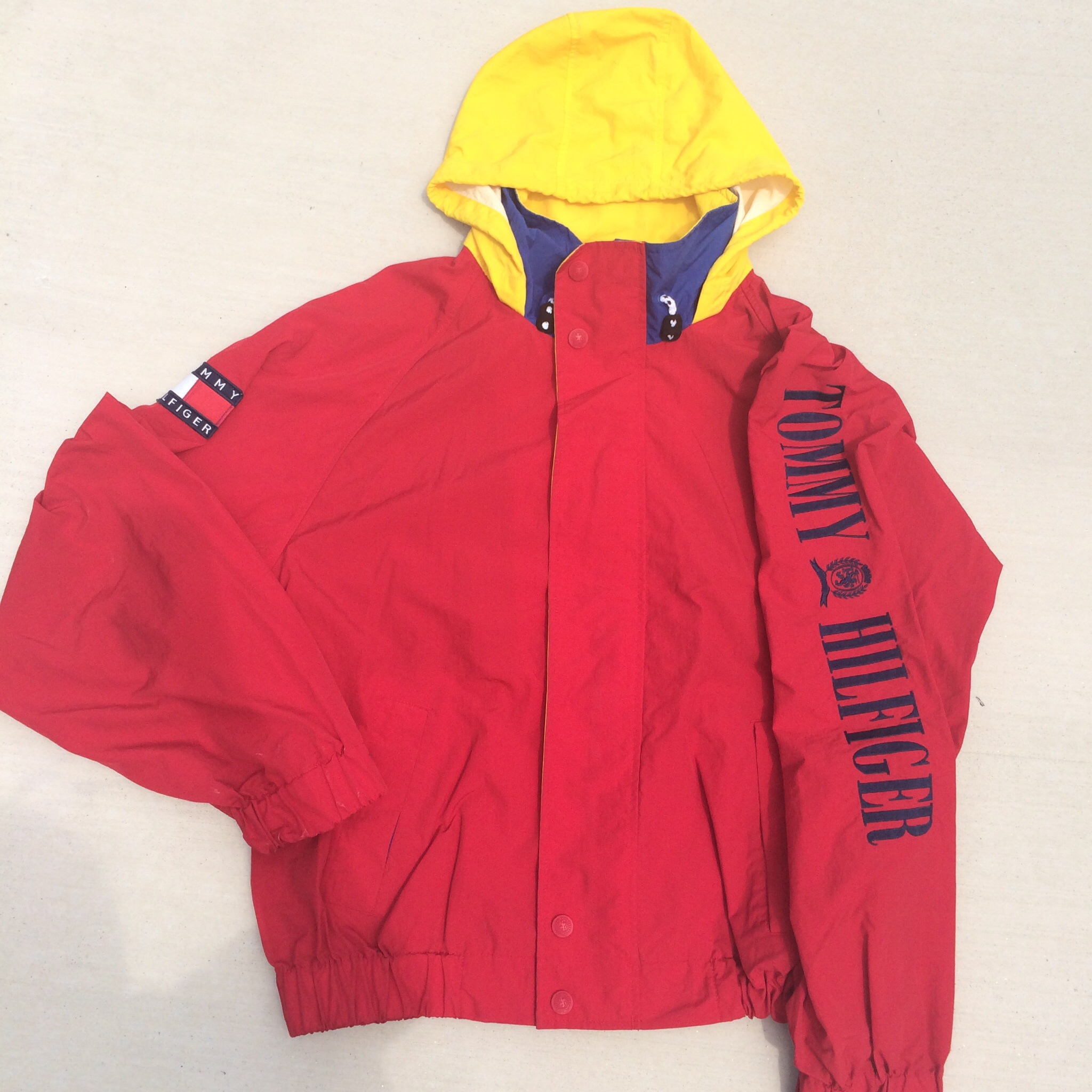 första titt 100% autentisk köpa *SOLD OUT* Vintage Tommy Hilfiger Sailing Windbreaker Jacket on ...