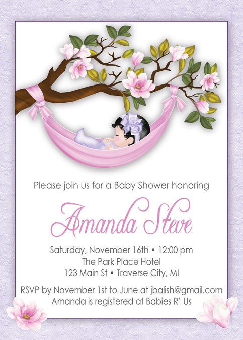 Girl Baby Shower Invitations Unique Baby Shower