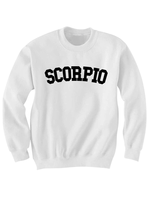 Scorpio Sweatshirt Team Scorpio Shirt Zodiac Sign Shirts