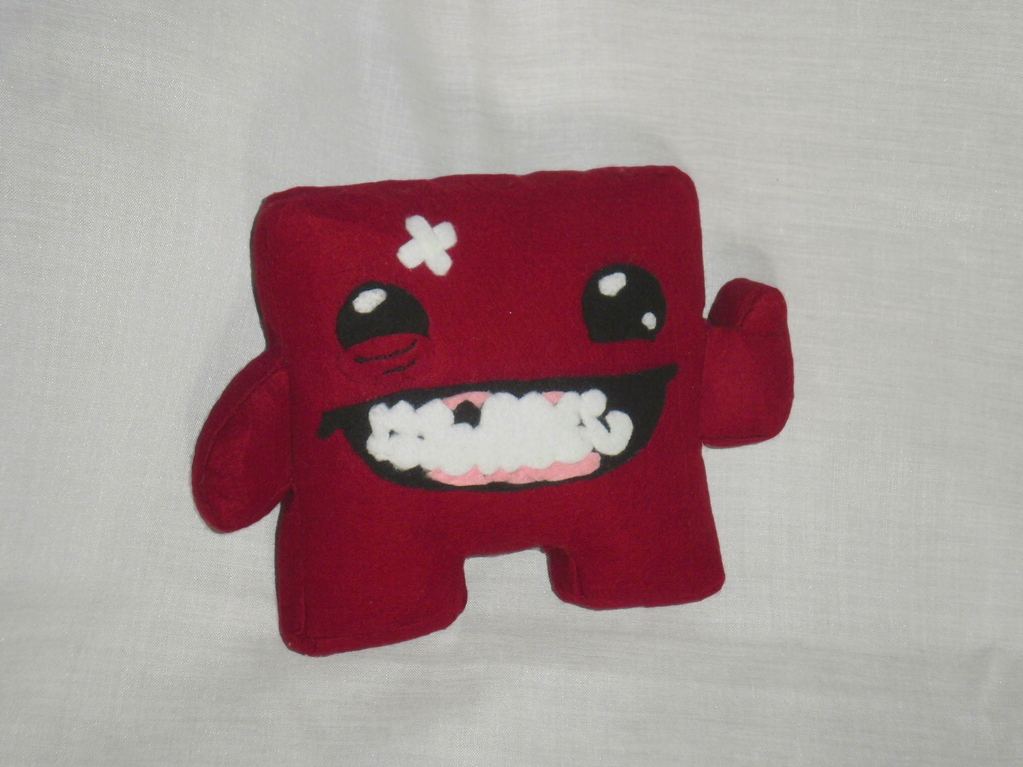 Super Meat Boy Plushie The Dark Little Bunnys Store Online