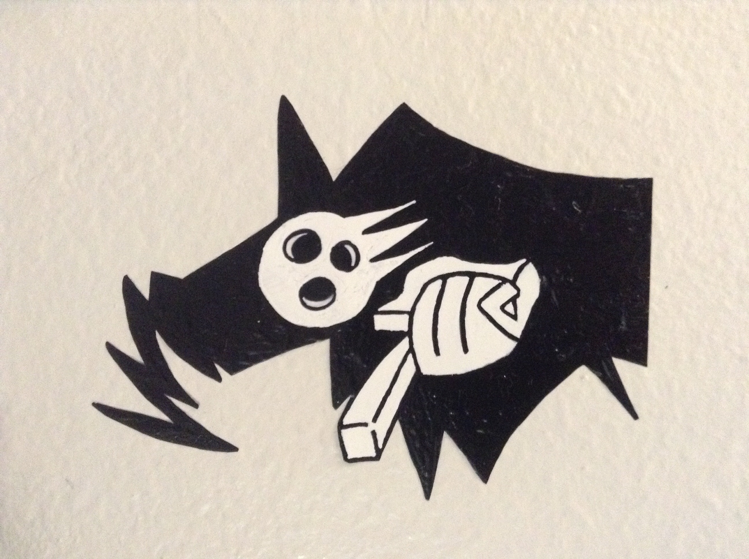 Soul Eater Lord Death Wall Deco On Storenvy