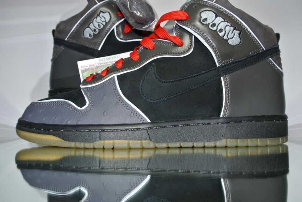 online store 3b03e 26aa0 Size 11 | DS 2007 Nike Dunk High Pro SB MF Doom #313171-004  Black/Black/Midnight Fog sold by BucksVintage