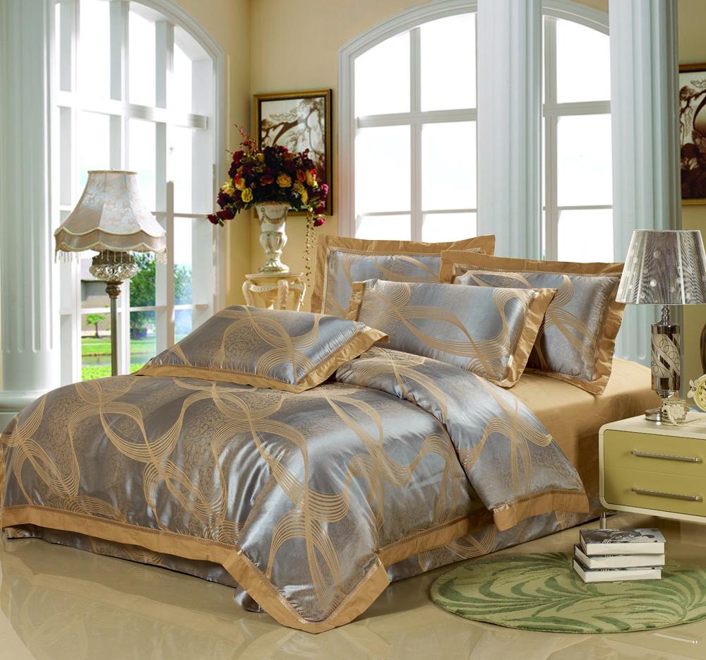 House Beauty   Homewares   Free shipping - Luxury satin jacquard ... - Luxury Bedding Sets