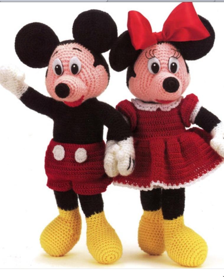 Mickey Mouse Amigurumi pattern Disney Crochet pattern | Etsy | 935x759