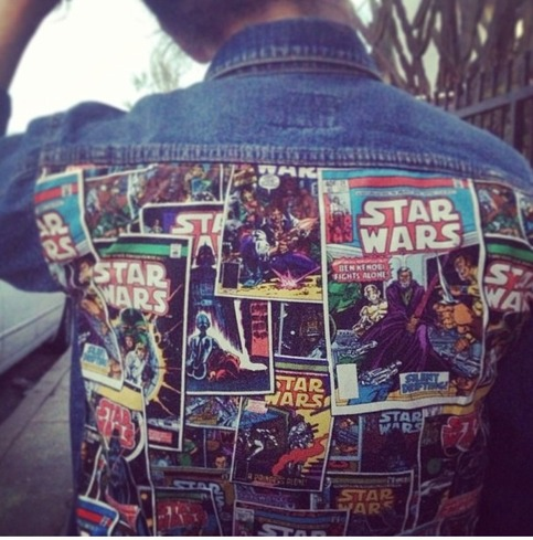 Levi S Star Wars Custom Jean Jacket On Storenvy