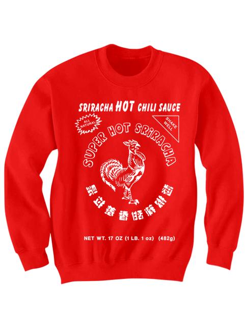 Sriracha Sweatshirt Party Shirt Cool Shirts Graphic Tees
