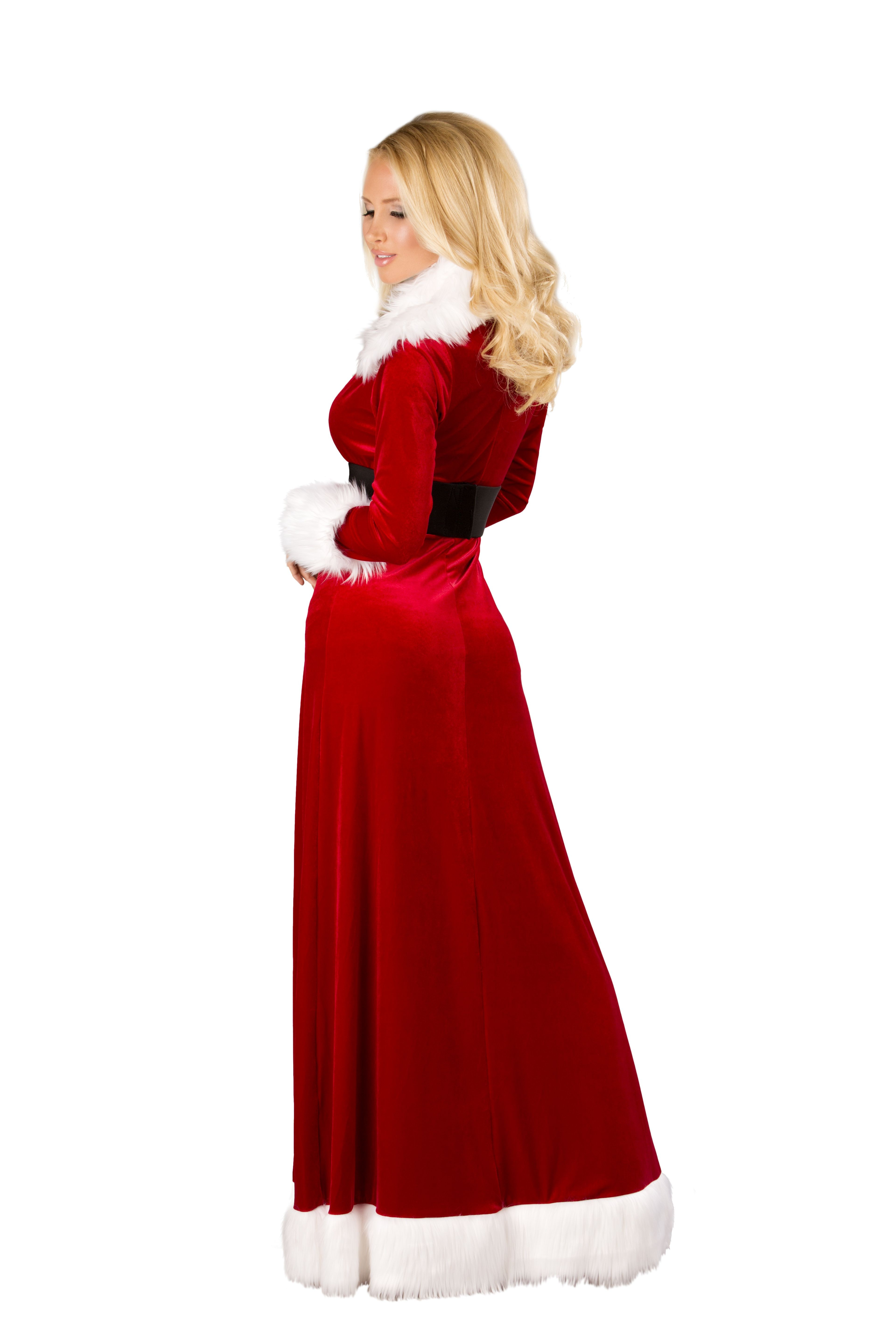 C170 – 3pc Sexy Miss Claus Sexy Christmas Party Robe on ...