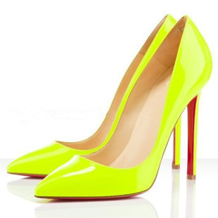 Gold 2014 New Fashion Sexy Pointed Toe Platform