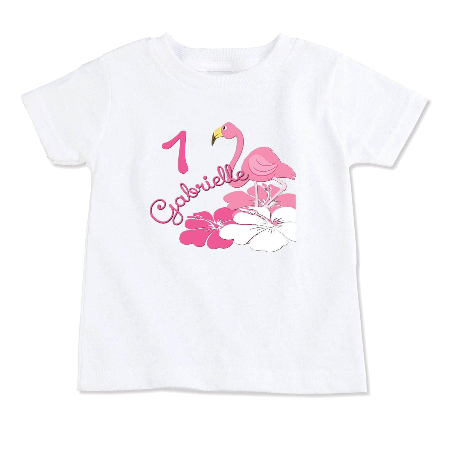 Flamingo T ShirtBirthday ShirtParty ShirtPersonalized ShirtCustom ShirtToddler Tops On Storenvy