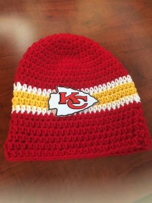 Crochet Kansas City Chiefs Beanie · Erayesgirl · Online Store ... 4ff1e872e06