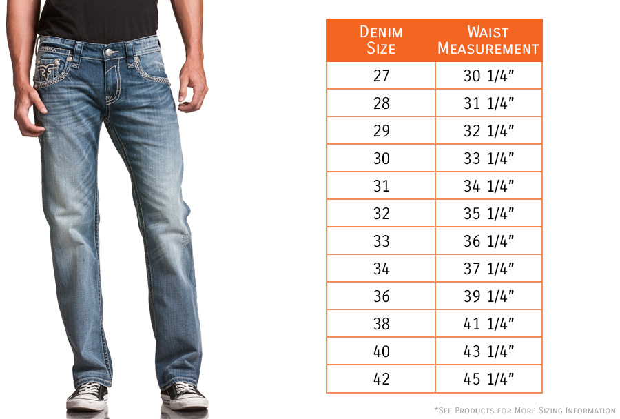 Men's Jeans & Pants Size Guide. ASOS brand sizes are designed to fit to the following body measurements: Some brands may vary from these measurements but you can still use them as a guide.