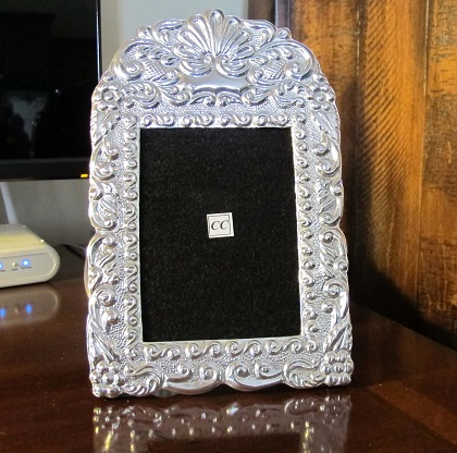 Sterling Silver Picture Frame Puya Real 4x5 Sofias Findings