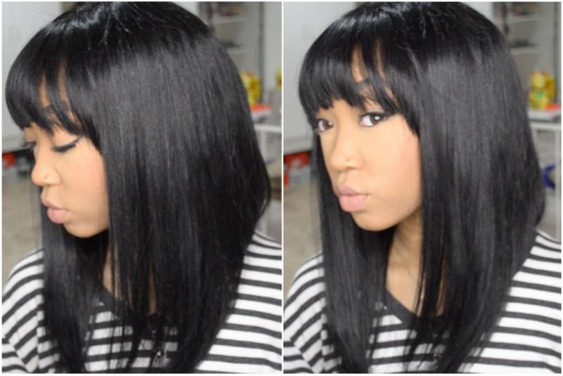 China bangs and a line cut full lace black wig on storenvy china bangs and a line cut full lace black wig urmus Gallery