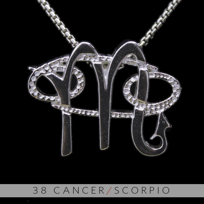 The cancer and scorpio silver unity pendant on storenvy 38 20cancer 20 26 20scorpio 202 original mozeypictures Images