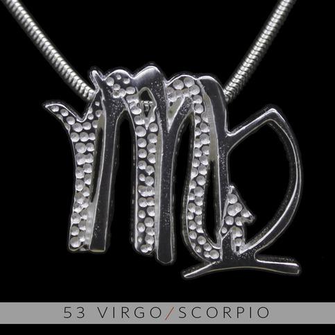 The Virgo And Scorpio Silver Unity Pendant On Storenvy