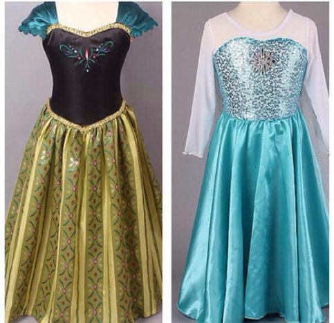 Frozen Inspired Anna And Elsa Dresses On Storenvy