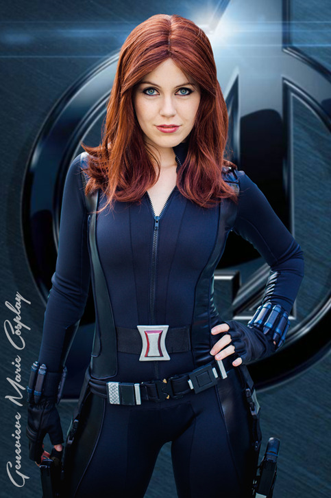Genevieve Marie As Black Widow From Winter Soldier On