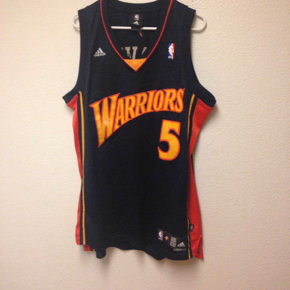 pretty nice 31daa 3e41e Golden State Warriors Baron Davis Authentic Adidas Jersey Large from Kings  Court Vintage