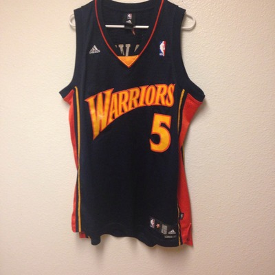 ebee80876 Golden State Warriors Baron Davis Authentic Adidas Jersey Large ...