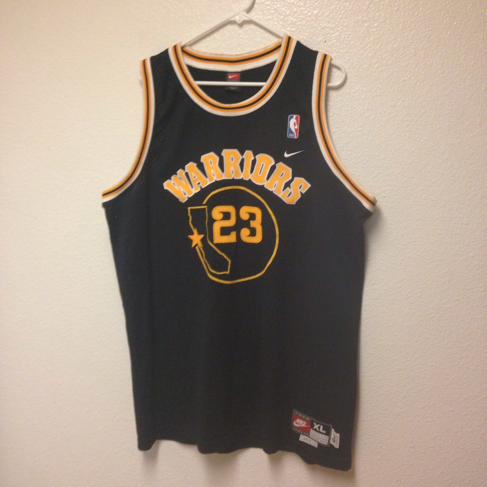 more photos 0445f 0e577 Jason Richardson Golden State Warriors Jersey XL from Kings Court Vintage