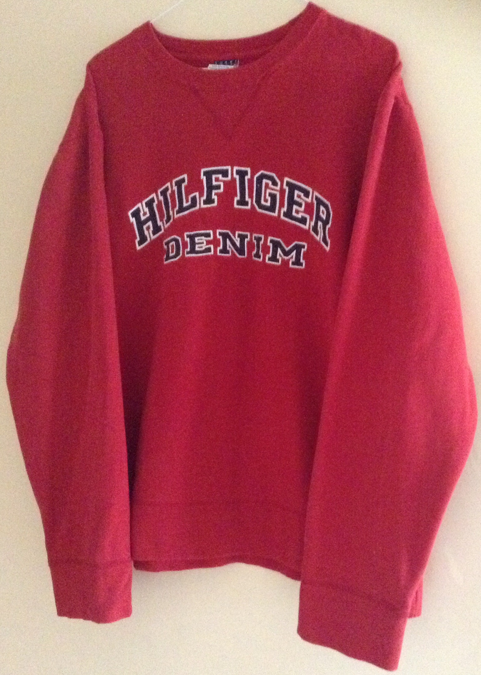 ec7ad6d2 RARE Vintage Tommy Hilfiger Crew-neck Sweatshirt on Storenvy