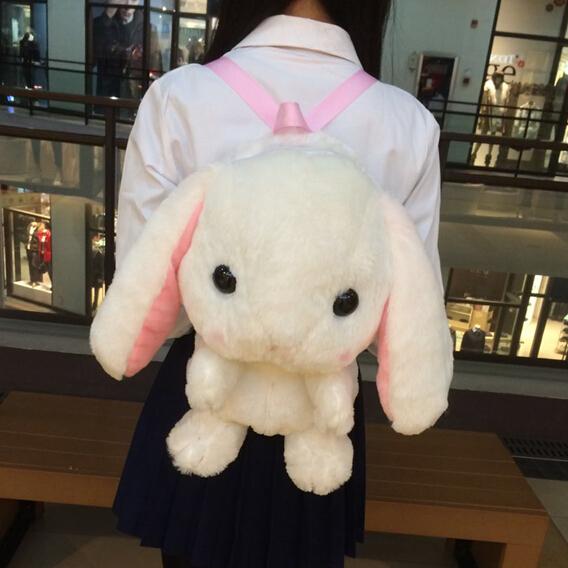 Lop Rabbit Cute Plush Doll Backpack Messenger Bag On Storenvy