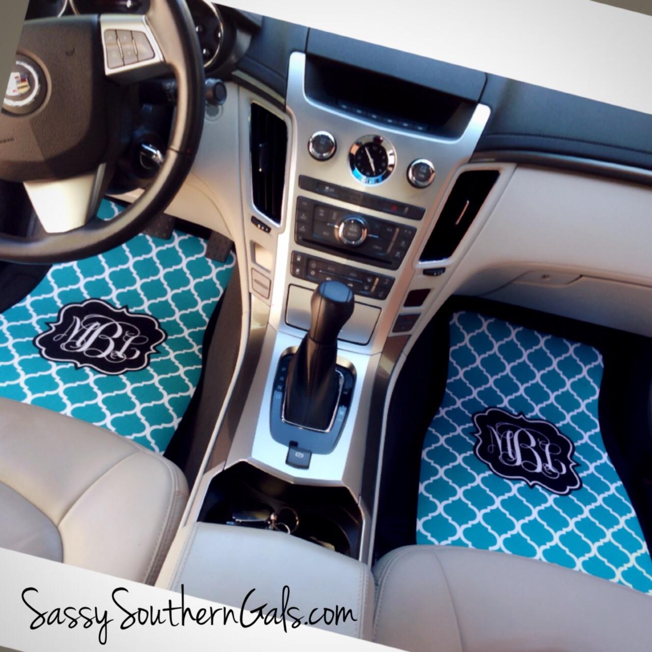 Monogrammed Floor Mats >> Monogrammed Car Mats Personalized Car Mats