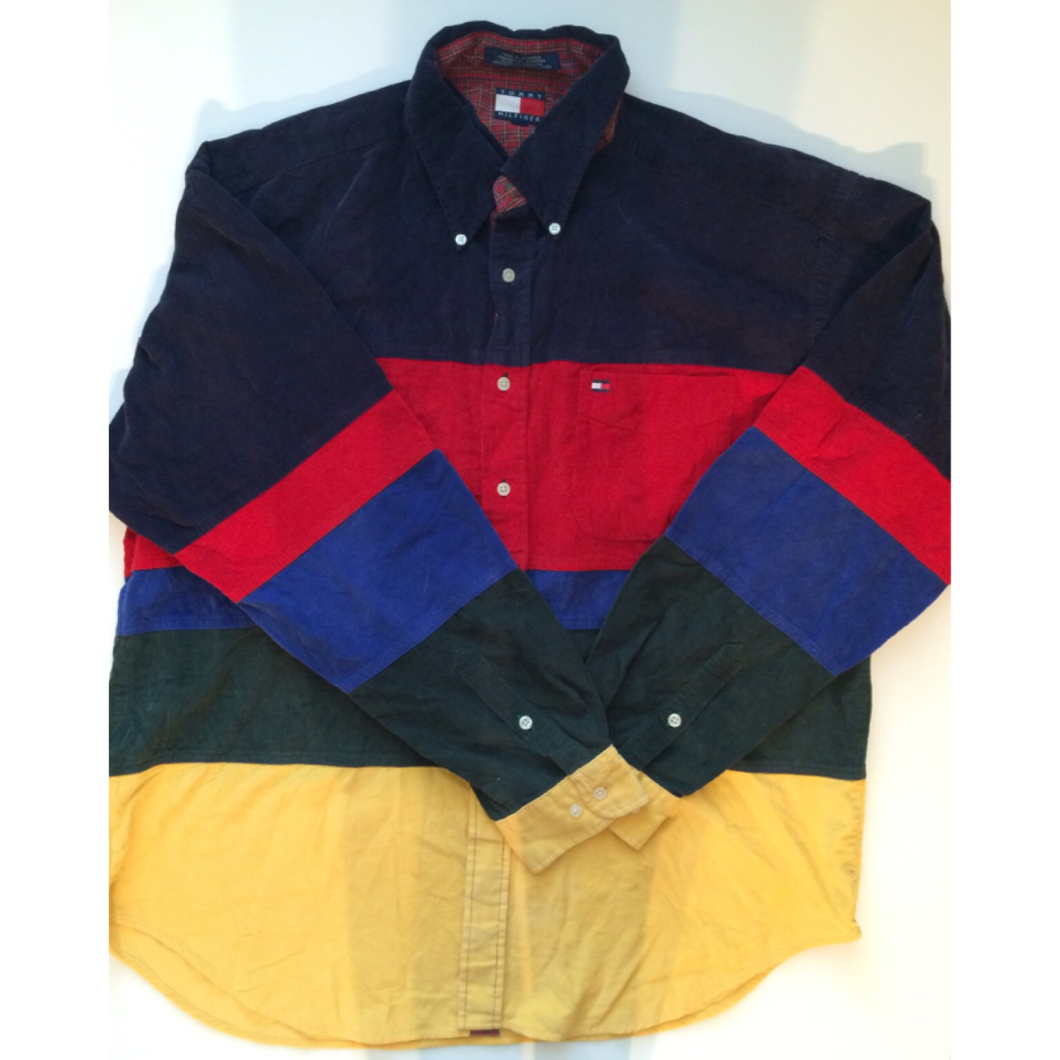 45611dfc6 SOLD OUT* Vintage Tommy Hilfiger Striped Corduroy Shirt on Storenvy