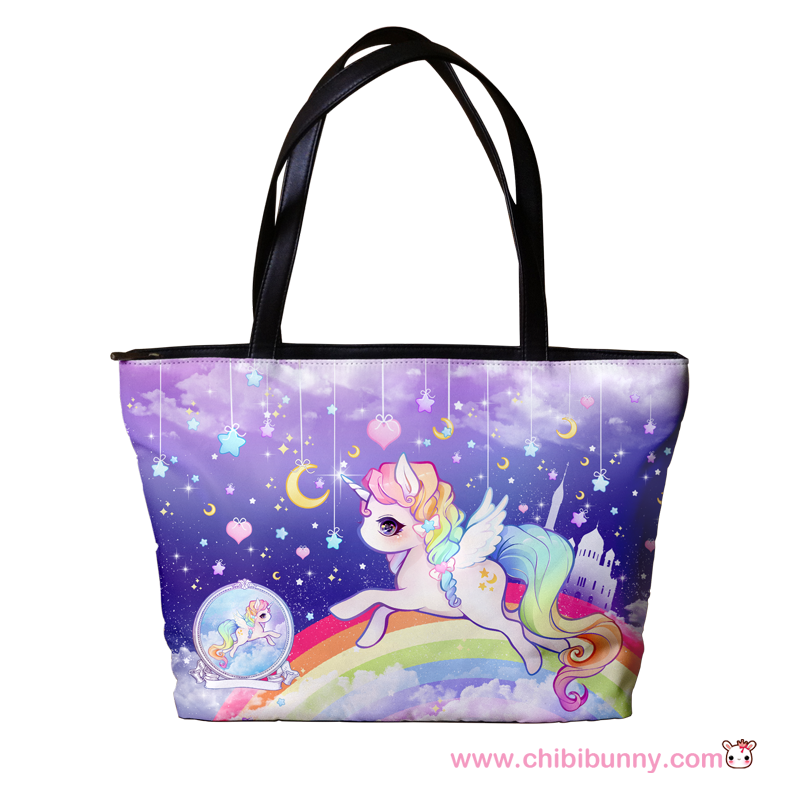 Pastel Galaxy Unicorn Cute Kawaii Shoulder Bag Sb9 On