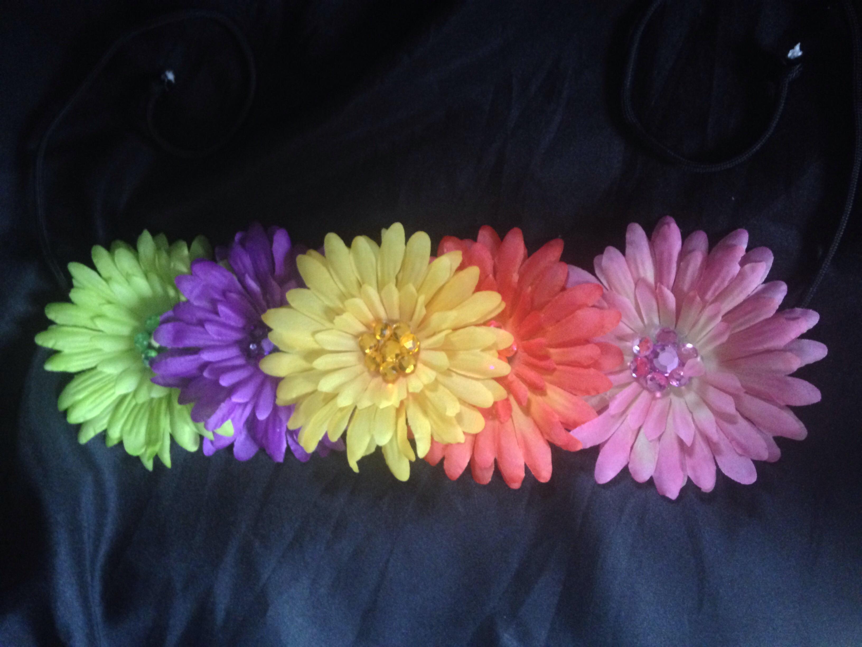 Neon Flower Crown On Storenvy