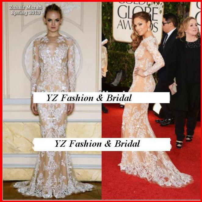 YZ Jennifer Lopez\'s Lace Zuhair Murad Evening Dress · YZ Fashion ...