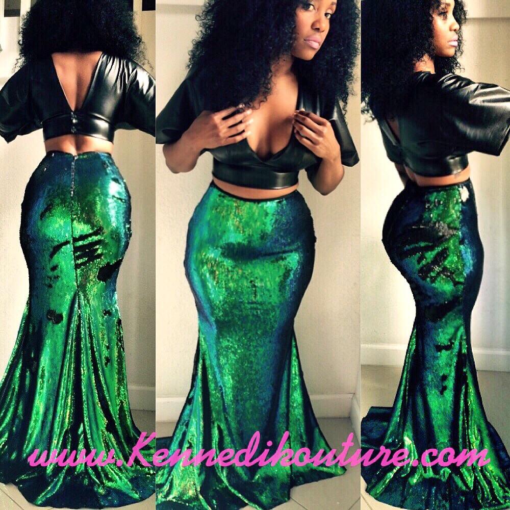 a6b5a8aa68 Sequin Mermaid Skirt | Skirt Ify