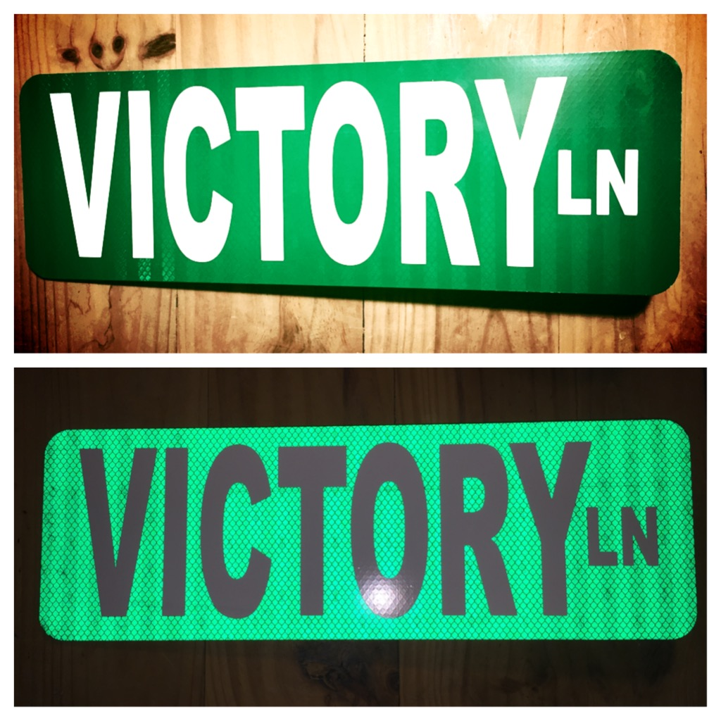 Victory Lane Street Sign · Retrow Threads · Online Store Powered by ...