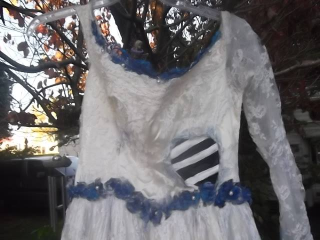 Corpse Bride Wedding Gown: Corpse Bride Emily's Wedding Gown