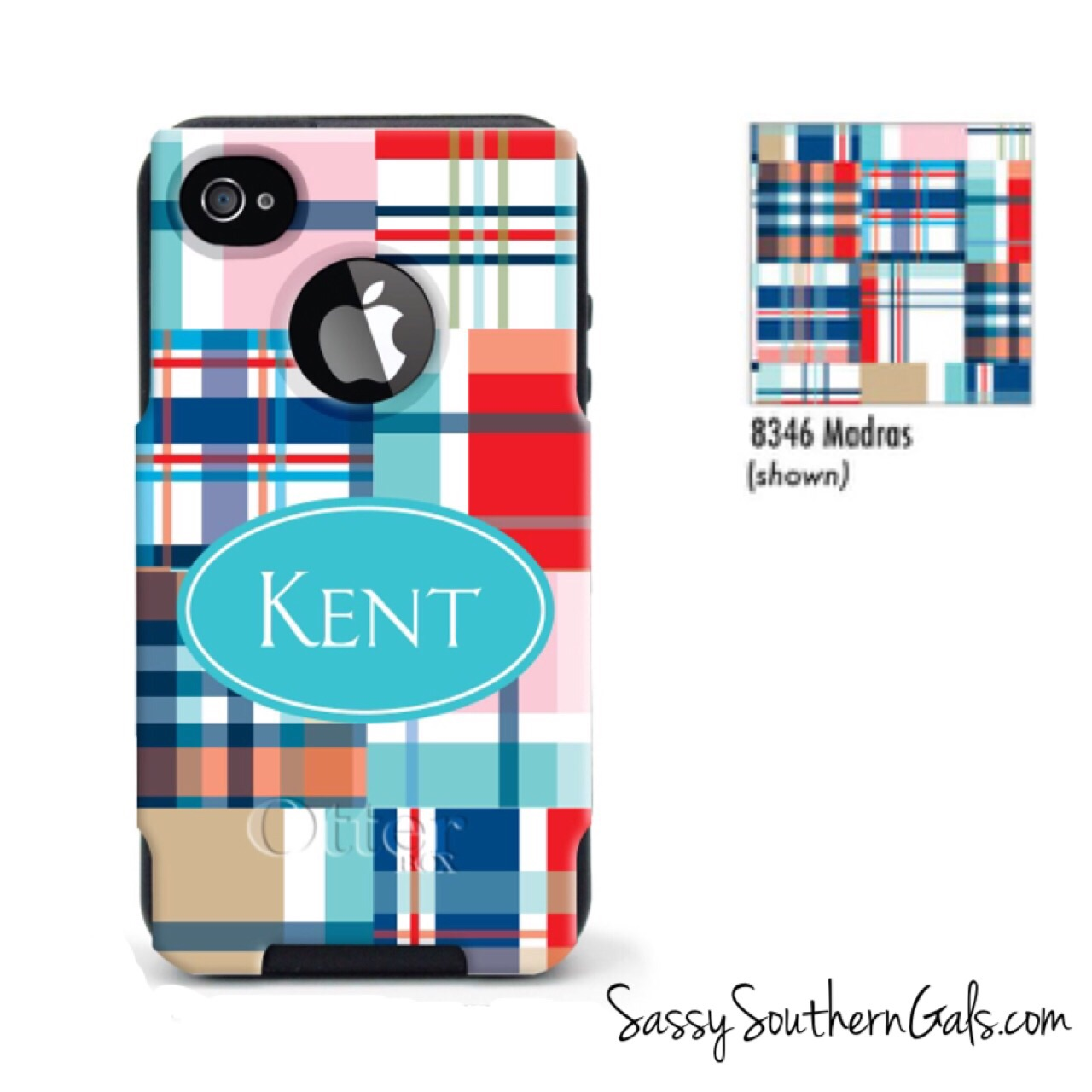 wholesale dealer a6a6b 8bdf3 Monogrammed OtterBox® Commuter Series® iPhone 6 Personalized OtterBox®  Commuter Series® from Sassy Southern Gals