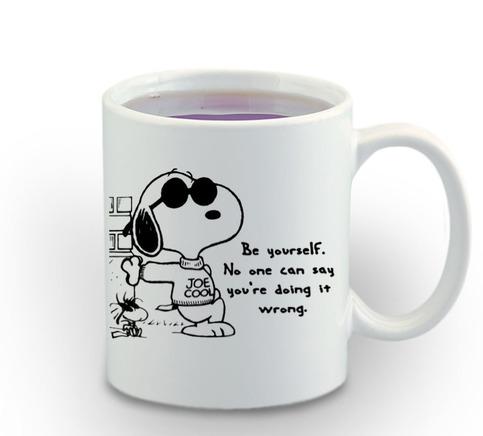 Snoopy Quote Cartoon Mug 11oz Coffee Tea Mug